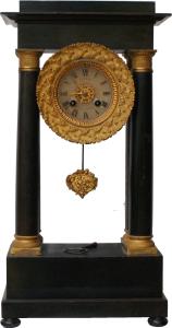 Franse kolom pendule ca.1880